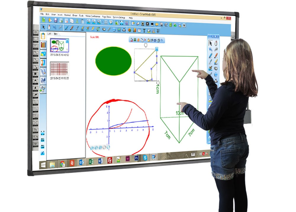 Interactive Intelligent Whiteboard